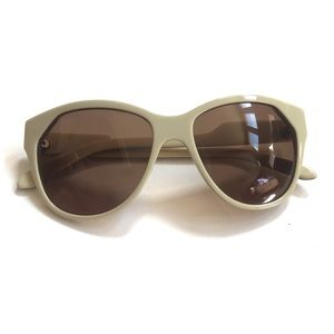 House Of Harlow 1960 Carey Sunglasses In Cream